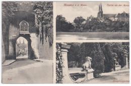 France, Mouzon A. D. Maas, Tor, Hospitalgarten - Andere Gemeenten