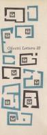 # OLIVETTI TYPEWRITER 1950s Italy  Advert Pubblicità Publicitè Reklame Machine A Ecrire Schreibmaschine - Other