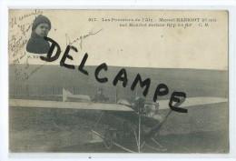 CPA -  Les Pionniers De L'Air - Marcel HANRIOT (15ans) Sur Hanriot Moteur GYP 35Hp - Aviation