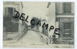 CPA - Marines - Rue Caquelard - Marines