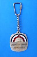 YUGOSLAVIAN PETANQUE FEDERATION Vintage Keychain * Boule Bowls Petanca Bocce Jeu De Boules Bocha Keyring Porte-cles - Boule/Pétanque