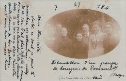 Romanel Sur Morges 1901, Groupe De Bourgeois Du Village (241001) - VD Vaud