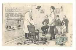 Cp, Humour, Le Crachoir, Voyagée 1905 ? - Humour