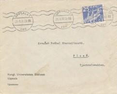 I4229 - Sweden (1936) Uppsala 1 - Briefe U. Dokumente