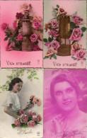 Lot Ste Barbe X 19 Cartes (lampe De Mineur Femme Fleurs - Vornamen