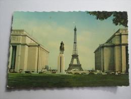 PARIS LA TOUR EIFFEL ET LE PALAIS DE CHAILLOT 6 - EDITIONS DU GLOBE - France