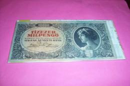 HONGRIE  °  10 000 PENGO 1946 - Banknotes