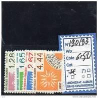 PREO LUXE ** 190/93 - 1964-1988