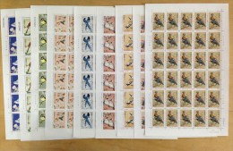 2002 - 2006 R31 Full S-S Definitive China Bird 9 V Full Set MNH - Nuovi
