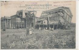 COURRIERES  Ruines De La Grande Guerre 1914-1918 Fosse N°8  Animée - Autres Communes