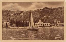 CPA TIHANY- BALATON LAKE, MANSIONS, BOATS - Hungría