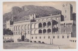 (RECTO / VERSO) MONACO EN 1913 - PALAIS DU PRINCE - BEAU CACHET DE CASTELLANNE AU VERSO - Fürstenpalast