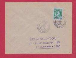 ENVELOPPE JOURNEE DU TIMBRE  //  6 MARS 1948 - Postmarks