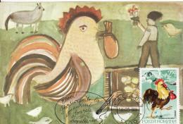 Romanian Fairy Tales Ion Creanga, Punguta Cu Doi Bani, Card 95 - Vertellingen, Fabels & Legenden