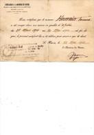 DOCUMENTS COMMERCIAUX, Attestation Employeur, TREFILERIES Et LAMINOIRES Du HAVRE, Le 22 Mai 1911, (fr : 1.40) - Autres