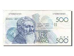 [#255477] Belgique, 500 Francs, Type Constantin Meunier - [ 2] 1831-... : Reino De Bélgica