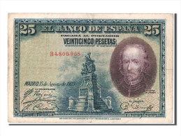 [#303768] Espagne, 25 Pesetas Type Calderon De La Barca - [ 1] …-1931 : Eerste Biljeten (Banco De España)