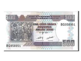 Burundi, 500 Francs Type 2011 - Burundi