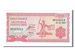 [#108391] Burundi, 20 Francs Type 2005 - Burundi