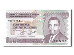 Burundi, 100 Francs Type 2011 - Burundi