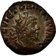 Monnaie, Victorin, Antoninien, TTB+, Billon, Cohen:112 - 5. L'Anarchie Militaire (235 à 284)