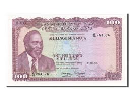 Kenya, 100 Shillings, 1972, 1972-07-01, KM:10c, NEUF - Kenya