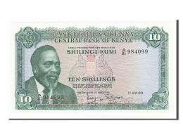 Kenya, 10 Shillings Type Kenyatta - Kenya