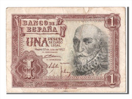 [#303803] Espagne, 1 Peseta Type Santa Cruz - [ 3] 1936-1975 : Régence De Franco