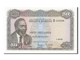 Kenya, 50 Shillings Type Kenyatta - Kenya