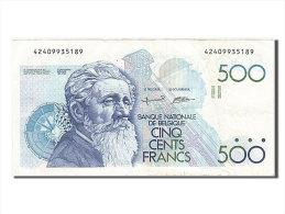 [#255475] Belgique, 500 Francs, Type Constantin Meunier - 500 Frank