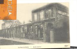 La Gare De Senlis ( Incendiée Par Les Allemands )trés Bon état ( Voir Scan ) - Senlis