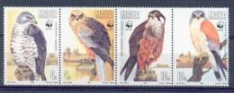 Mzn119s WWF FAUNA ROOFVOGELS VALK FALCON BIRDS OF PREY VÖGEL AVES OISEAUX MALTA 1991 PF/MNH - W.W.F.