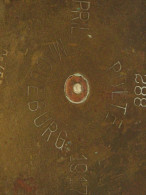 Douille Allemande De 77 Mm Datée 1917, POLTE MAGDEBURG APRIL 1917 St 288 Sp406, Hauteur 23cm - 1914-18
