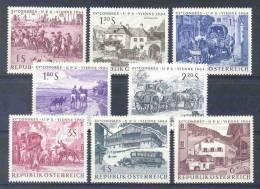AUSTRIA - Mi Nr 1156/1163 - MNH** - Cote 4,00 € - 1961-70 Ongebruikt