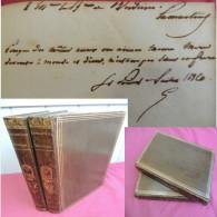 JOCELYN / ENVOI AUTOGRAPHE & SIGNATURE De LAMARTINE 1836 2/2 Vols EO - Libros, Revistas, Cómics