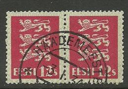 ESTLAND Estonia Estonie 1928 Wappenlöwe Coat Of Arms Michel 80 O HÄÄDEMEESTE - Estonia