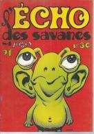L´ECHO DES SAVANES  N° 30   Couverture   WOOD - L'Echo Des Savanes