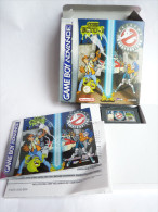 JEU NINTENDO GAME BOY ADVANCE CODE ECTO-1 En Boîte Avec Livret - Nintendo Game Boy