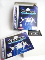 JEU NINTENDO GAME BOY ADVANCE CASPER En Boîte Avec Livret - Nintendo Game Boy