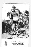 Jean Claude ANNAERT, Autographe Manuscrit, Dédicace (au Dos). 2 Scans. Ford France - Wielrennen