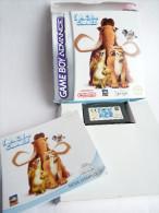 JEU NINTENDO GAME BOY ADVANCE L'AGE DE GLACE En Boîte Avec Livret - Nintendo Game Boy