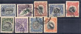 Serie Nº 85/93 Incompleta De Liberia. Usado - Liberia