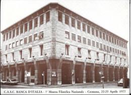 LOMBARDIA-CREMONA-BANCA D'ITALIA CREMONA C.A.S.C.SEZIONE FILATELICA - Banques