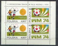 SOCCER FOOTBALL WORLD CHAMPIONSHIP - MUNDIAL - POLAND 1974 MNH - Coppa Del Mondo