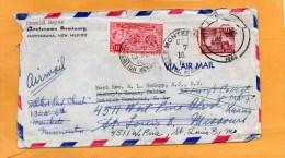 USA 1960 Cover Mailed To British Honduras And Remailed To USA - British Honduras (...-1970)