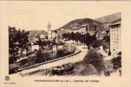 COURSEGOULES - Entrée Du Village    (68282) - Altri Comuni