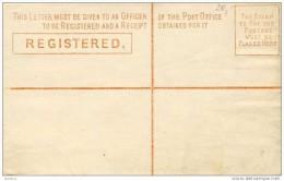 Registered New South Wales Four Pence Envelpe Australia - Australia