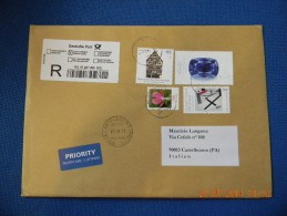 Busta Affrancata Con N° 4 Francobolli (Proveniente Da Diethensdorf, Germania) - Germany