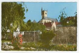 38 - Morestel        Vue Sur L'Eglise - Morestel