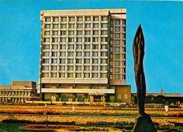 Hotel Trotus, Gheorghiu-Dej, Onesti, Romania Postcard Used Posted To UK 1969 Nice Stamp - Romania